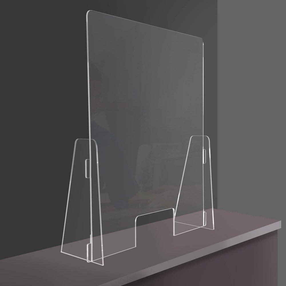Divisori In Plexiglass Per Esterni parafiato da banco protettivo in plexiglass con apertura