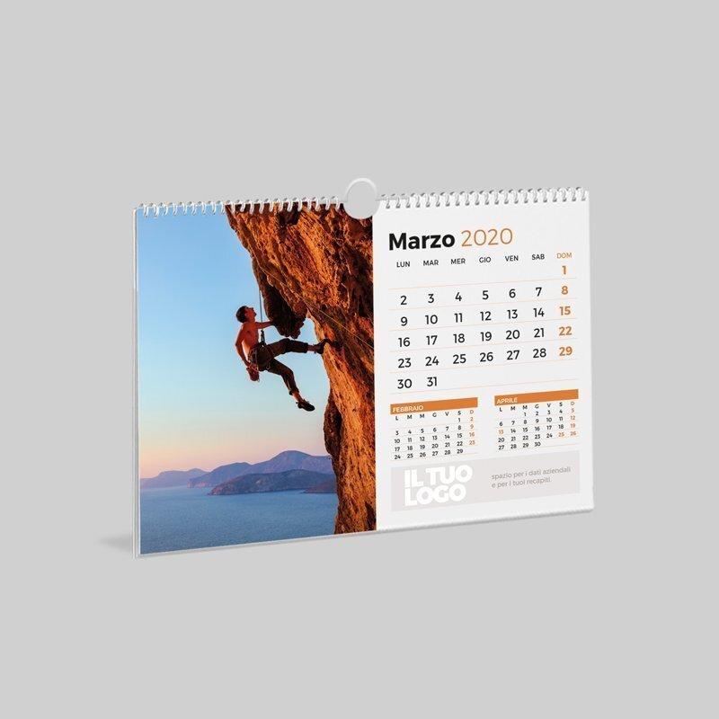 Calendario Parete.Stampe Grafiche Online Calendari Da Parete Qebgrafiche Com